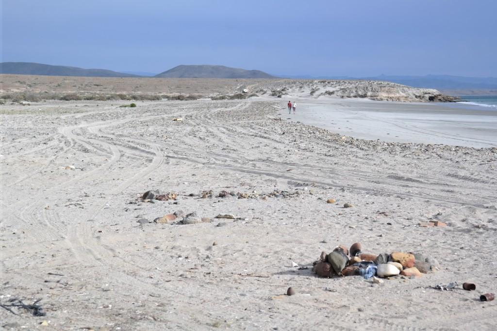 Sand trap!