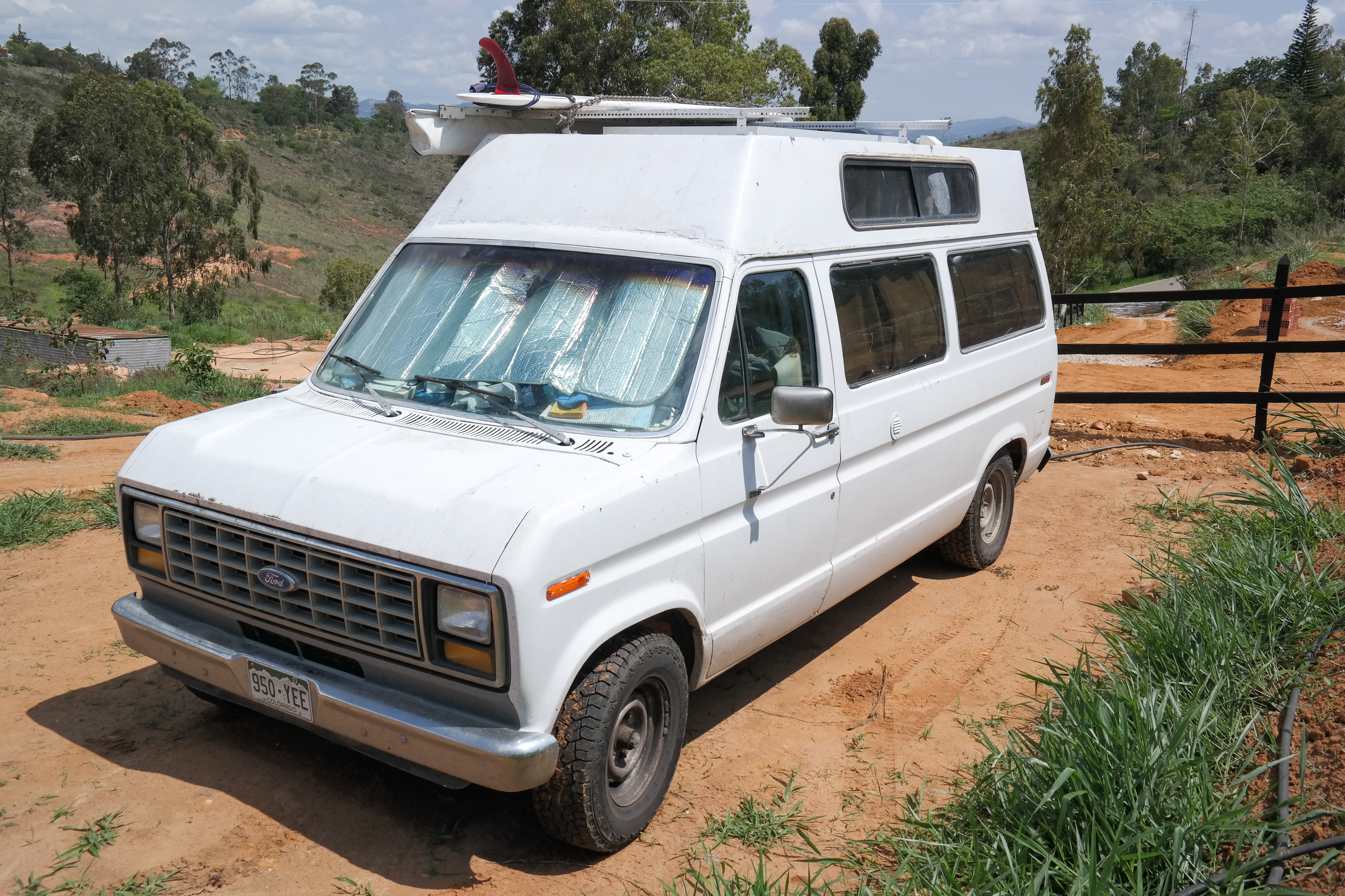 Camper Van For Sale In Argentina Chili Beginning Of 2015