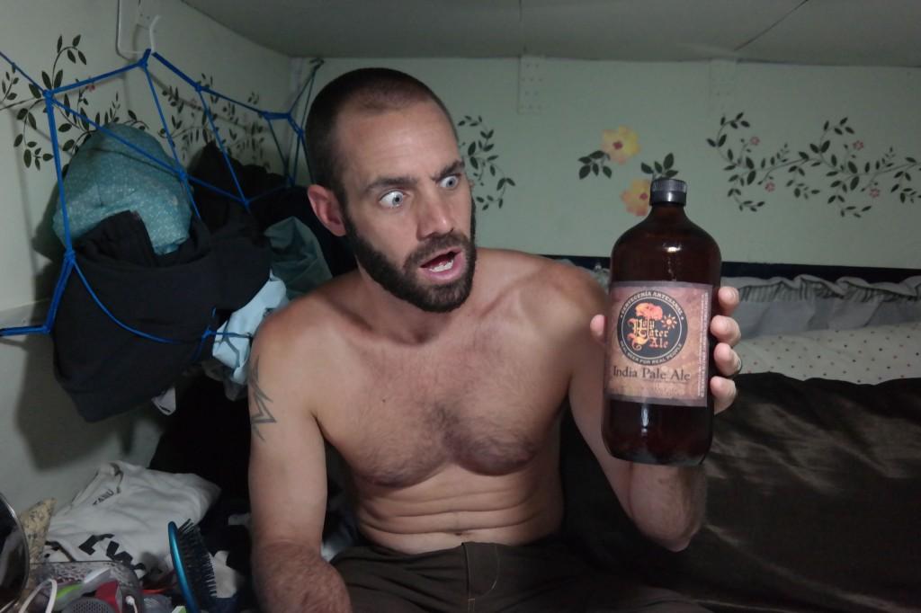 Hoppy craft beer!?!?!?!