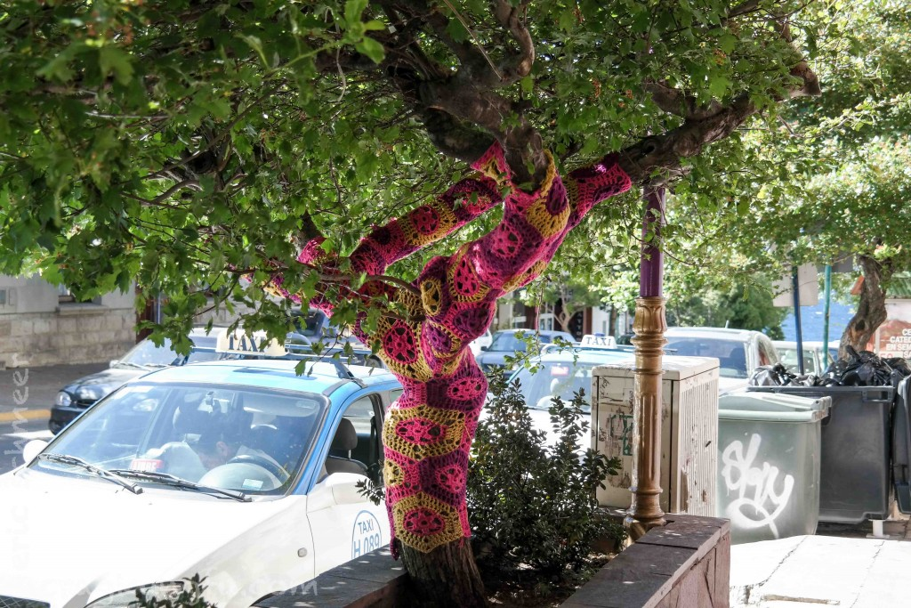 How to keep a tree warm in style
