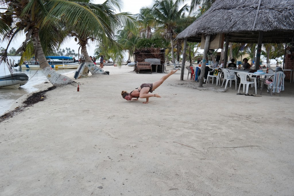 Island pose