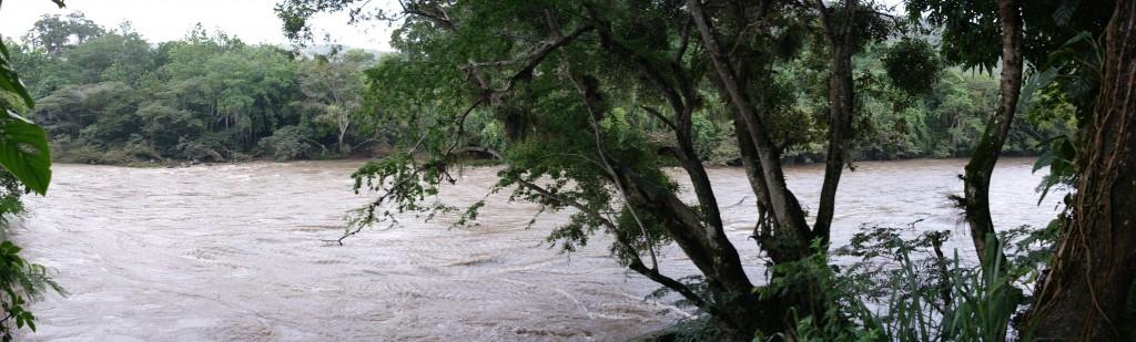 Giant, muddy rivers