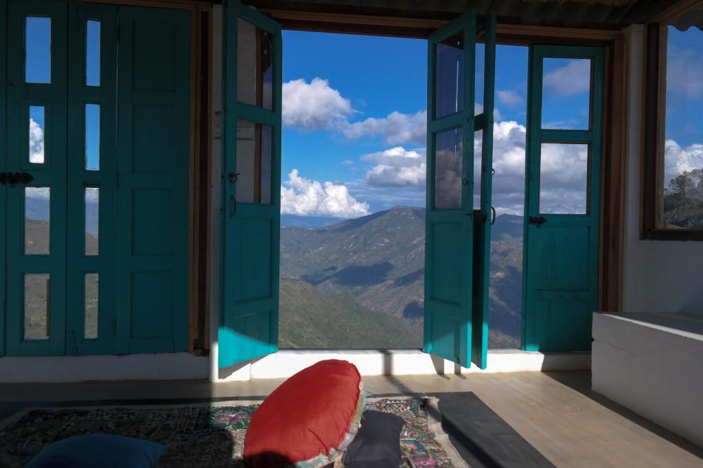 Yoga room view