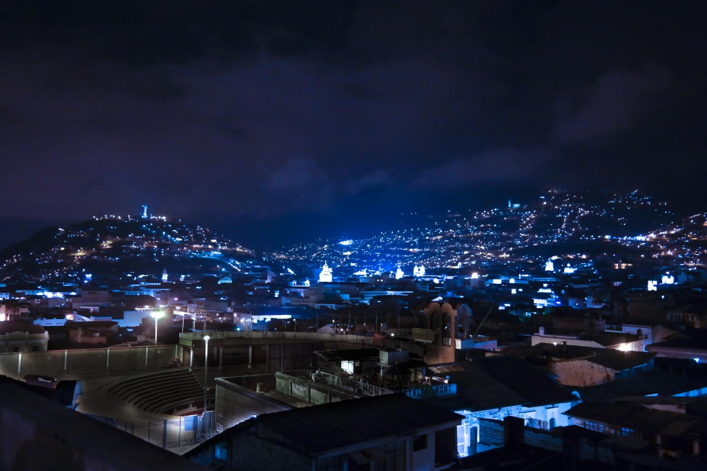 Buenas Noches from Quito!